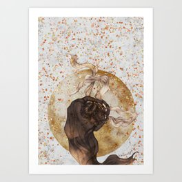 solid and clear Art Print