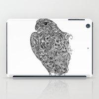 hawk iPad Cases featuring Hawk by kayse wieneke