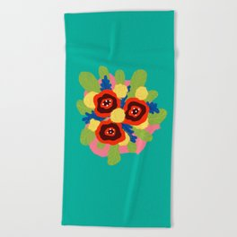 Bouquet #1 Beach Towel