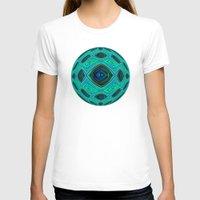 aqua T-shirts featuring Aqua by gretzky