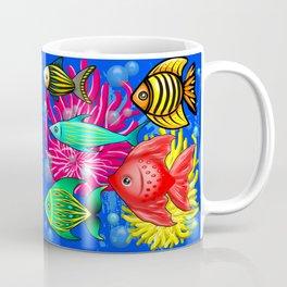 Fish Cute Colorful Doodles Coffee Mug