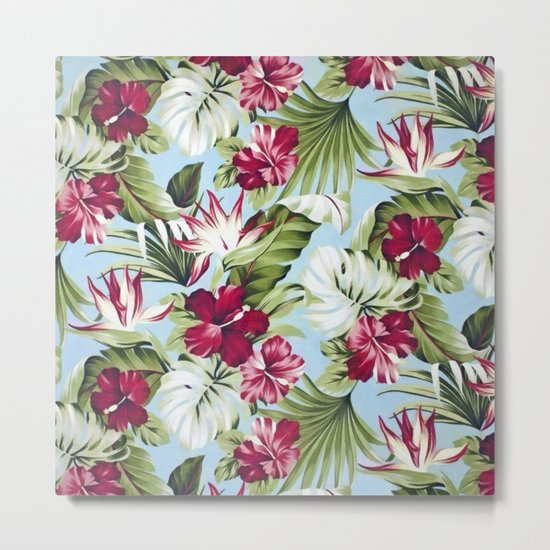 Tropical garden II Metal Print