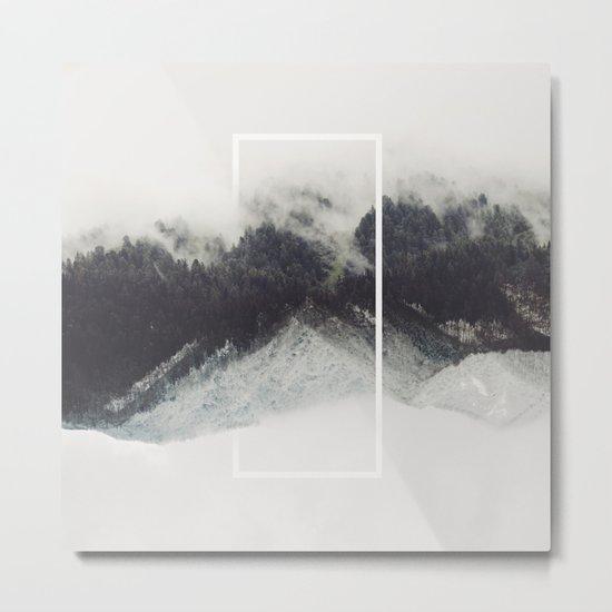 Core Metal Print