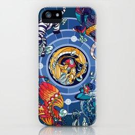 Divided Sky, Benevolent Beasts [Quartet] iPhone Case