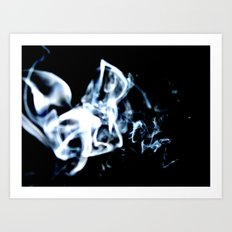 Drifting Smoke Art Print