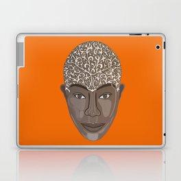 brown visage Laptop & iPad Skin