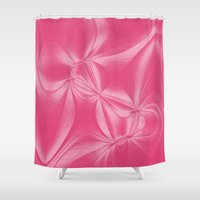 bow Shower Curtains featuring Bow by AlexinaRose
