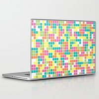 tetris Laptop & iPad Skins featuring Tetris by Alisa Galitsyna