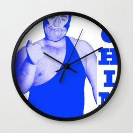 Memphis Wrestler Dream Machine Wall Clock