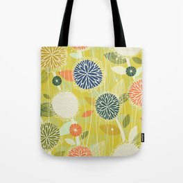 Pom Poms M+M Apple by Friztin Tote Bag