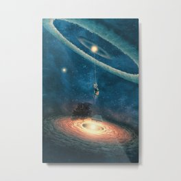 My dream house is in another galaxy Metal Print