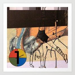 elastic subject Art Print