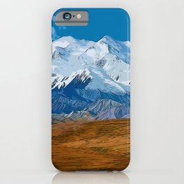 Denali National Park, Mount McKinley iPhone Case