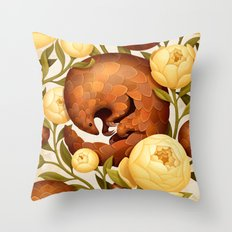 PROSPERITY IN BLOOM Throw Pillow