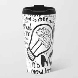 Imagination in the membrane Travel Mug
