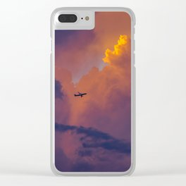Glowing Escape Clear iPhone Case