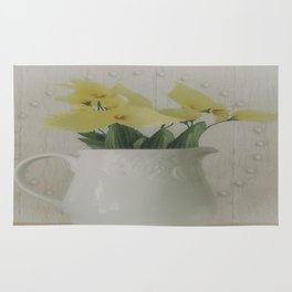 PITCHER OF FLOWERS Rug