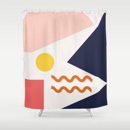 Nouille Shower Curtain