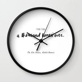 The Kite Runner Wall Clock
