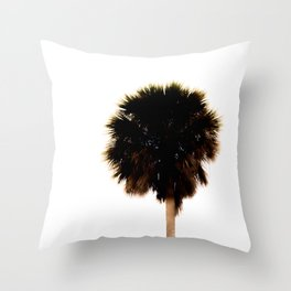 Abstract Palm Tall Minimal Print Gifts Throw Pillow