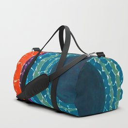 African American Masterpiece The Eclipse by Alma Thomas Duffle Bag