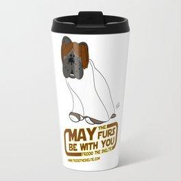 Frod0 the Sheltie: May the Furs Be With You (Baiana) Travel Mug