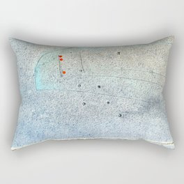 carved in stone Rectangular Pillow