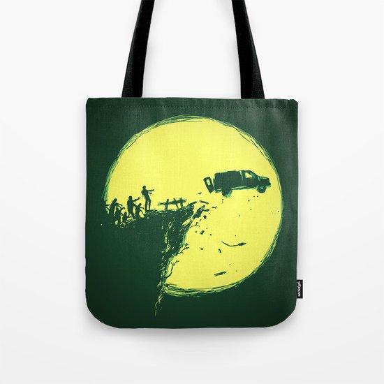 Zombie Invasion Tote Bag
