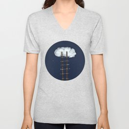 Stairway to the clouds Unisex V-Neck