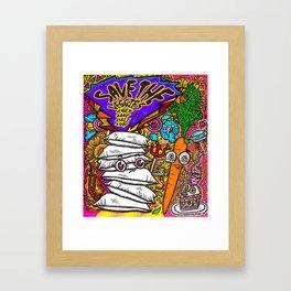 Save the Veggies! - Carrot Framed Art Print