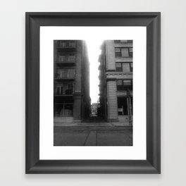 Street View #1 Framed Art Print