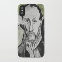 writer iPhone & iPod Cases featuring Writer by black door