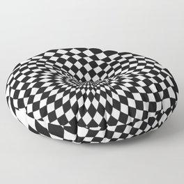 Wonderland Floor #5 Floor Pillow