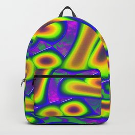 Dichroic Psychedelic Fused Glass Backpack