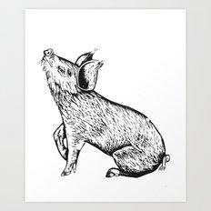 Little Tamworth Art Print