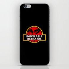 Jurassic Betrayal iPhone Skin