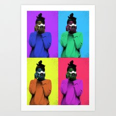 The Warhol Affect Art Print