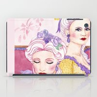 agnes cecile iPad Cases featuring Marie & Cecile by artofnadia