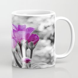 Fuchsia fLOWERS Pop Of Color Coffee Mug