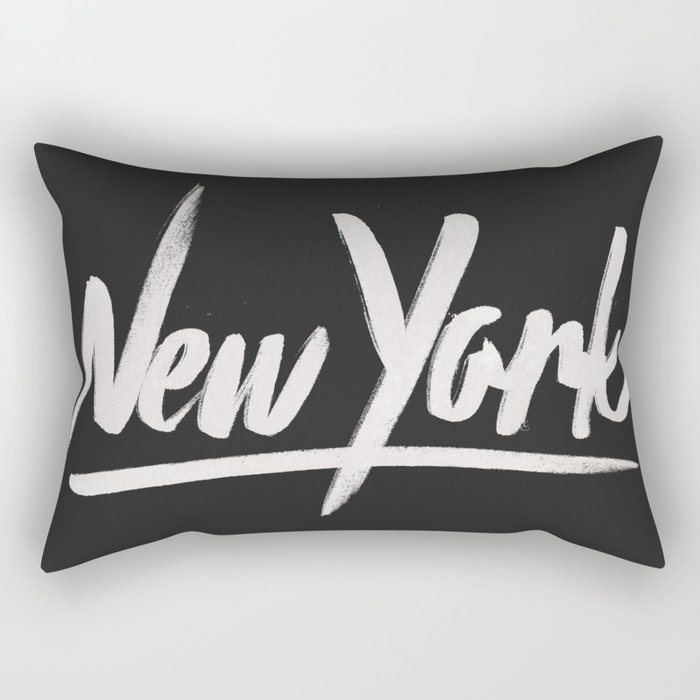NYC is over the top Rectangular Pillow