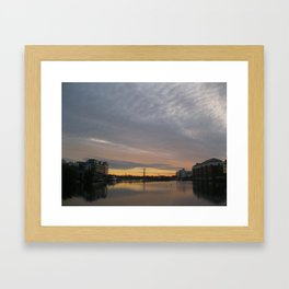 Dublin Morning Framed Art Print