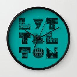 Missing buildings of Lyttelton Wall Clock