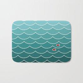Deep Ocean Fish Bath Mat