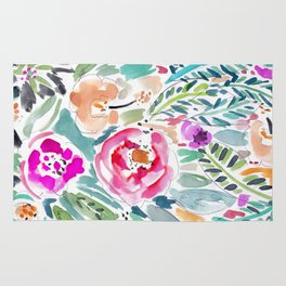 Walk in the Park Floral Rug