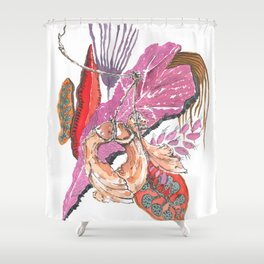 Botanical Findings Shower Curtain