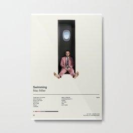 Mac Miller Swimming, Album Art Poster Print,  Wall Art , Home Decor Metal Print