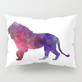 Lion 01 in watercolor Pillow Sham
