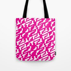 Handgun Pattern Tote Bag