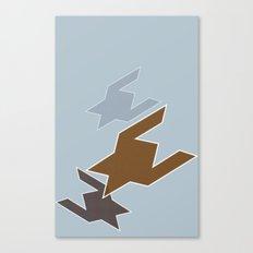 Testing 1 + 2 + 3 Canvas Print