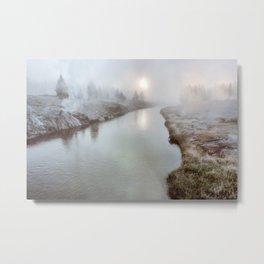 Misty Mornin' Metal Print